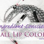 Delila Sophia's 6 Lip Colors for Fall
